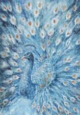 Peacock Print Canvas Print Art Painting Wall Home Decor Gift 100x70cm