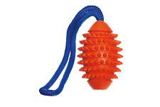 Karlie Ruffus Vollgummi Aqua Football Vollgummispielzeug für Hunde 9,5 cm orange