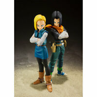 Bandai S.H.Figuarts Dragon Ball Z ANDROID 17+18 Tamashii Event Exclusive Color