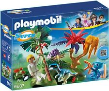 PLAYMOBIL 6687 Lost Island with Alien and Raptor - NEW 2015