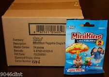 2014 GARBAGE PAIL KIDS MINIKINS 2 CHEAP TOYS SEALED 24 PK RETAIL BOX RARE YELLOW