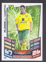 Match Attax 2012/13 - # 169 Russell Martin - Norwich - Error Card