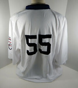 2009 Pittsburgh Pirates Matt Capps #55 Game Issued White Jersey 1909 PBC Style 1