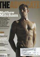 The Advocate March 2009 Mathew Mitcham Robert Pattinson 060719DBE
