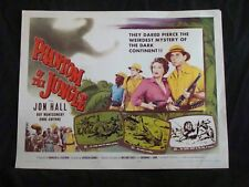 PHANTOM OF THE JUNGLE movie poster JON HALL 1/2sheet ANNE GWYNNE 1955