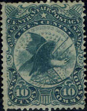 #WV11 1864 10 CENT SANITARY FAIR STAMP ISSUE  MINT-NO GUM