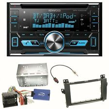 Kenwood DPX-7000DAB Digitalradio USB CD Einbauset für Mercedes Viano Vito W639