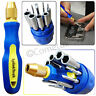 11PC Insulated Screwdriver Set Socket Repair Tips Torx Phillips Slotted Tool Kit
