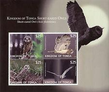 Tonga 2012 bf 52 rapaci notturni mnh
