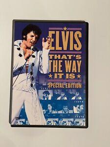 ELVIS -  THAT´S THE WAY IT IS (Special Edition ) Original deutsche DVD