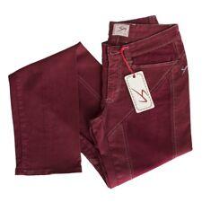 9.2 by CARLO CHIONNA Pantalone donna tg.25 col.Bordeaux | -77% OCCASIONE |