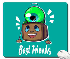 mousepad mouse pad Tiny Box Tim And Septiceye Sam! best friends