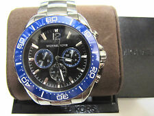 New Michael Kors MK8422 Men's Chronograph Windward Stainless Steel Watch NWT$350