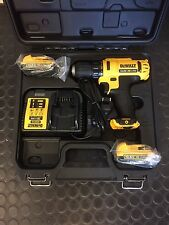 DeWalt batería taladro set dcd710d2 10,8v 2 x 2.0 ah baterías dcd710