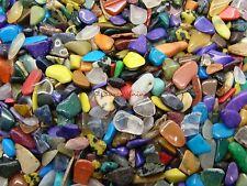 Size #1 - Tiny Tumbled Polished Gemstone Mix - 2000 Carats Lots - Over 2000 Gems