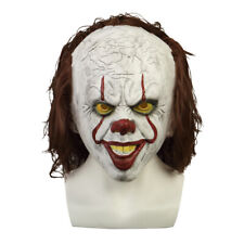 2019 Halloween IT Mask Cosplay Penny Wise Scary Smile Joker Mask Clown Mask Prop