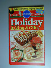 PILLSBURY Cookbook Booklet  HOLIDAY BAKING & GIFTS  1995  #177