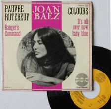 "Vinyle 45T Joan Baez  ""Pauvre Rutebeuf"""