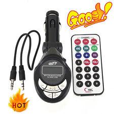4in1 Car MP3 Player Wireless FM Transmitter Modulator USB SD CD MMC Remote SN