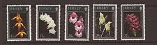 Jersey 1993 Orchids (3rd. series) MNH