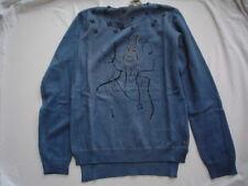 WI 13/14  - STRICKPULLI, blau  v.GARCIA  Gr.140 -164