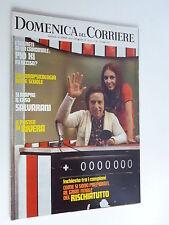 DOMENICA DEL CORRIERE  23 maggio 1972 // VIRNA LISI // MINA // POSTER RIVERA