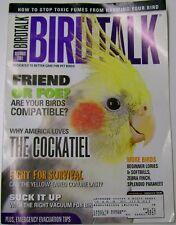 *BIRD TALK MAGAZINE Dec 01 Cockatiel Toxic Fumes Amazing Trick Fight Danger