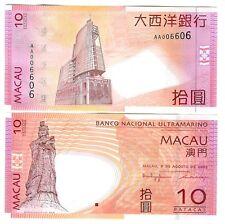 Macao macao 10 patacas 2005 UNC p 80