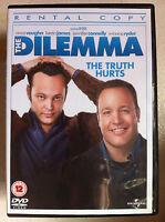 The Dilemma DVD 2011 Infidelity Comedy w/ Vince Vaughn Rental Version