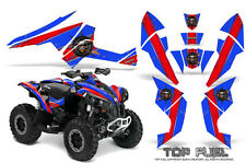 Can-Am Renegade Graphics Kit by CreatorX Decals Stickers TOP FUEL RBL