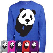 Panda Imprimé Animal Imprimé Mode Hommes Super Doux Pull