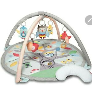 Skip Hop Treetop Friends Activity Gym Gray Pastel Playtime, Free 🇺🇸 shipping
