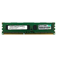 HP Genuino 4GB 2Rx8 PC3L-10600E DDR3 1333MHz 1.35V error-correcting código UNB UDIMM Memoria RAM 1X4G
