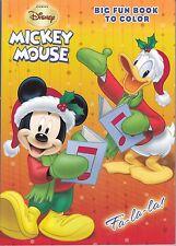 Disney Mickey Mouse Christmas Coloring Book ~ Fa-La-La!