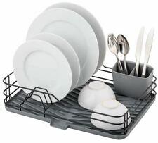 Kitchen Dish Drying Rack Tray Worktop Organiser Utensil Holder Sink Drainer Dry
