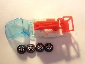 Hot Wheels Redline HEAVYWEIGHTS SNORKEL BED w/GLASS & WHEELS REPRO KIT -NICE!