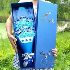 Nice Bunch of 6 Lio Stitch Dolls Toys flowers Xmas Birthdaay Creative Gift Box