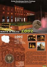 ■■■ Poland 2011 2 Zlote Polish Cities ŁÓDŹ Lodz Manufaktura in Blister UNC ■■■