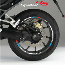 R1200RS motorcycle wheel decals rim stickers set stripes r1200 rs BMW Motorsport