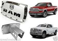 Dodge RAM Engraved Billet Aluminum Tow Hitch Cover Licensed New Free Shipping