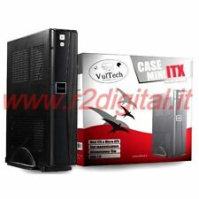 CASE VULTECH MINI ITX ALIMENTATORE ELETTRONICO USB TOWER MINIATX COMPUTER PC
