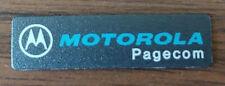 "Minitor Nameplate ""Pagecom"""