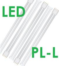 Crompton 25w = 55W LED PL-L 2G11 4000K COOL WHITE 5273 UK Seller