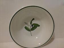 """La Primula 10.5"""" Vegetable Serving Bowl, Olive Botanical Design, Italy   (S4"""