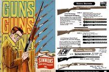 Simmons 1970 Gun Catalog, Olathe, Kansas