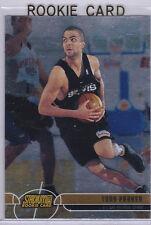 TONY PARKER San Antonio SPURS ROOKIE CARD Topps Stadium Club 2001 Basketball RC