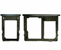 CARRELLO DUAL SIM+ MEMORY CARD SAMSUNG GALAXY J4 J6 PLUS J415 J610 SCHEDA NERO