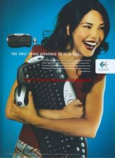 Logitech Cordless Desktop MX  2003 Magazine Advert #2077