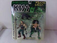 McFarlane Kiss Psycho Circus Peter Criss/The Animal Wrangler Action Figures  NEW