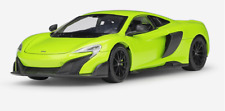 Welly 1:24 McLaren 675LT Diecast Model Sports Racing Car Toy NEW IN BOX Green